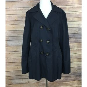 Esprit Navy Trench Coat